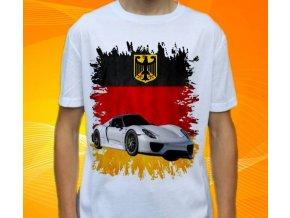tričko s autem Porsche 918 Spider