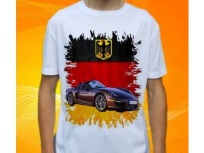 tričko s autem Porsche Boxster