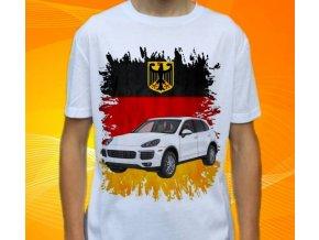 tričko s autem Porsche Ayenne
