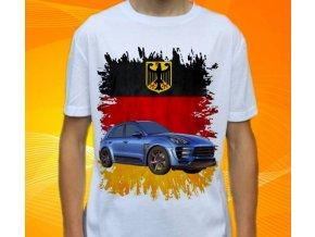 tričko s autem Porsche Macan