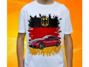 tričko s autem Porsche Panamera