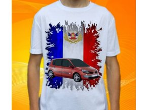 tričko s autem Renault Scenic