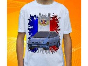 Dětské a pánské tričko s autem Renault Scenic 1999