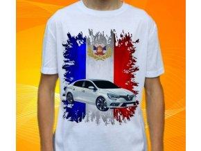 tričko s autem Renault Megane Sedan