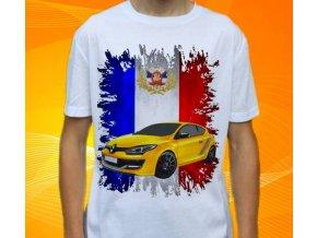 tričko s autem Renault Megane RS