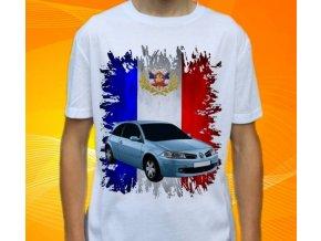 tričko s autem Renault Megane II Hatchback