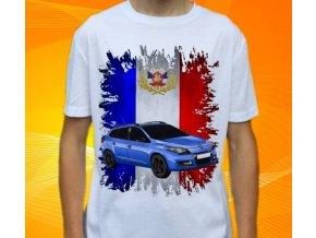 tričko s autem Renault Megane Grandtour