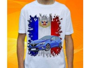 tričko s autem Renault Megane Coupe
