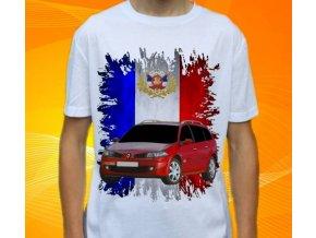 tričko s autem Renault Megane Combi