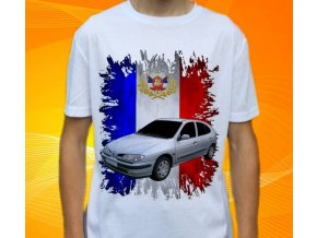 tričko s autem Renault Megane 1999