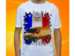tričko s autem Renault Master