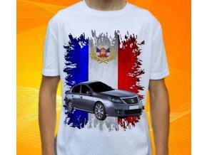 tričko s autem Renault Latitude