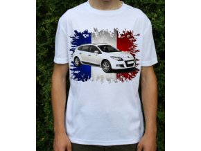 tričko s autem Renault Megane Estate GT 2011