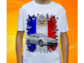 tričko s autem Renault Laguna Sedan