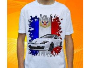 tričko s autem Renault Laguna Coupe
