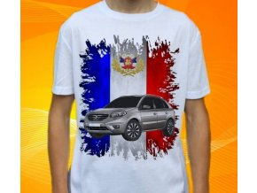 tričko s autem Renault Koleos