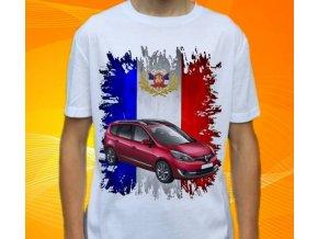tričko s autem Renault Grand Scenic