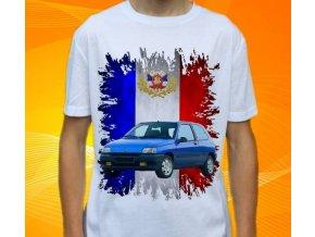 tričko s autem Renault Clio S