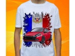 tričko s autem Renault Clio RS