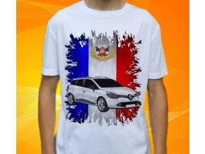 tričko s autem Renault Clio Grandtour