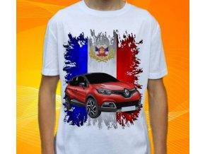 tričko s autem Renault Captur