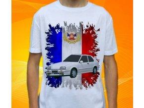 tričko s autem Renault 19