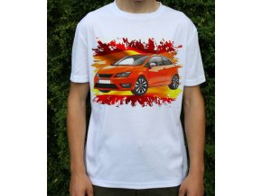 tričko s autem Seat Ibiza