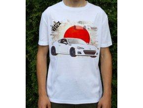 tričko s autem Subaru BRZ