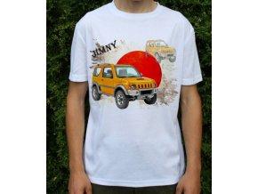 tričko s autem Suzuki Jimny