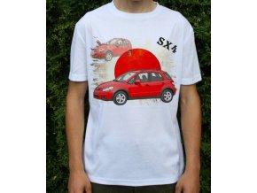 tričko s autem Suzuki Sx4