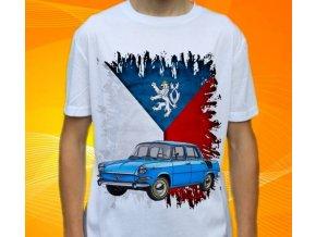 Dětské a pánské tričko s autem Škoda 1000