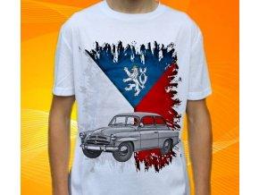 Dětské a pánské tričko s autem Škoda Spartak 440