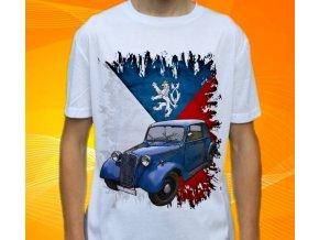 Dětské a pánské tričko s autem Tatra 57 1938