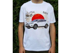 tričko s autem Toyota RAV4