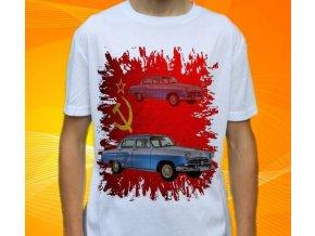 tričko s autem Volha 21