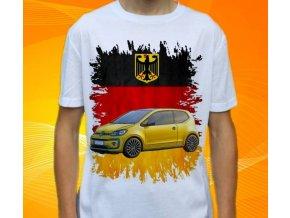 tričko s autem Volkswagen Up