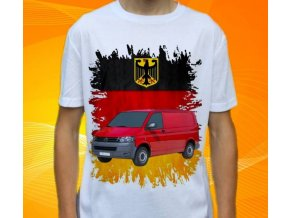 tričko s autem Volkswagen Transporter