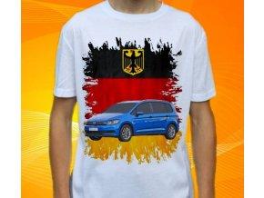 tričko s autem Volkswagen Touran