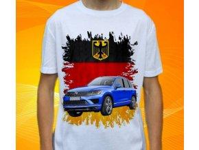tričko s autem Volkswagen Touareg