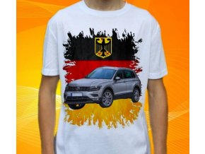 tričko s autem Volkswagen Tiguan