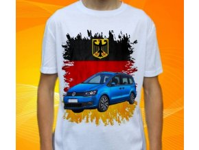 tričko s autem Volkswagen Sharan 2016