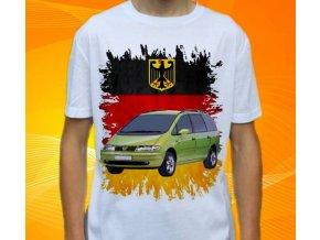 tričko s autem Volkswagen Sharan