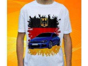 tričko s autem Volkswagen Scirocco