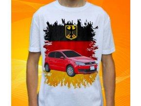 tričko s autem Volkswagen Polo