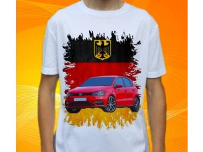 tričko s autem Volkswagen Polo GTI