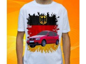 tričko s autem Volkswagen Polo GTI 1999