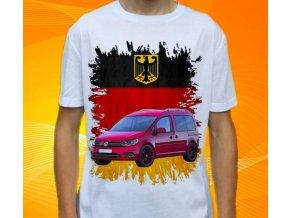 tričko s autem Volkswagen Caddy