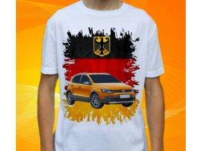 tričko s autem Volkswagen Crosspolo