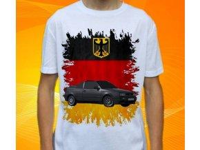 tričko s autem Volkswagen Golf Cabrio