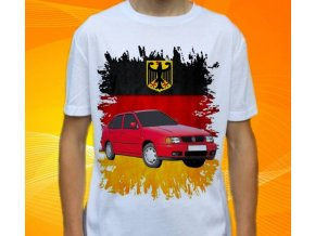 tričko s autem Volkswagen Polo Classic Sedan